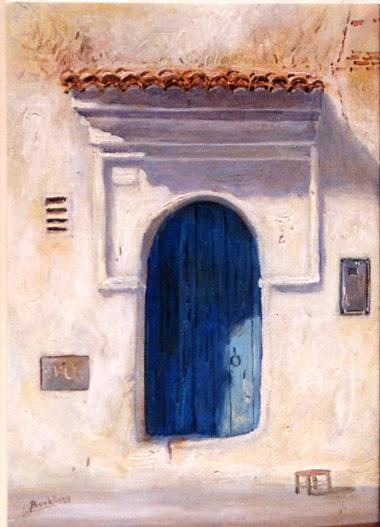 Hassan Boukhari  Porte de Chaouen