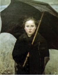 Marie Bashkirtseff parapluie